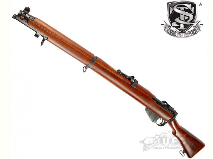 [S&T] Lee Enfield No. 1 Mk III エアーコッキングライフル リアルウッド (新品予約受付中!)