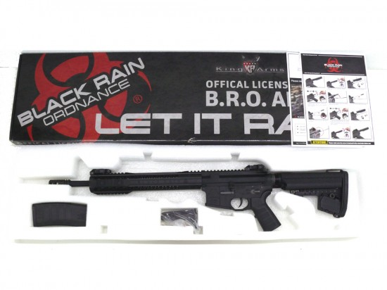 [KingArms] Black Rain Ordnance M4カービン BK (中古)