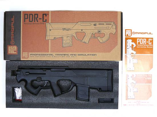 [MAGPUL] PTS PDR-C/Personal Defense Rifle BK (中古)