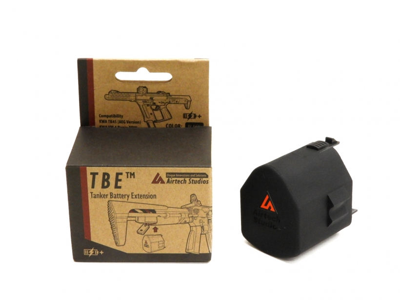 [Airtech Studios] KWA TK45 & VM4 Ronin PDW 用 TBE -TANKER BATTERY EXTENSION (新品)