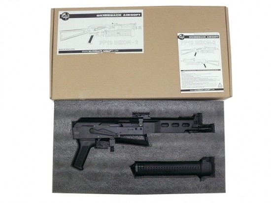 [SILVER BACK AIRSOFT] PP-19 BIZON-2  AEG (中古)