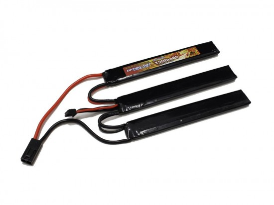 [OPTION NO.1] マッチドLiPOバッテリー HIGH POWER 11.1V 1300mAh GB-0011M (新品)