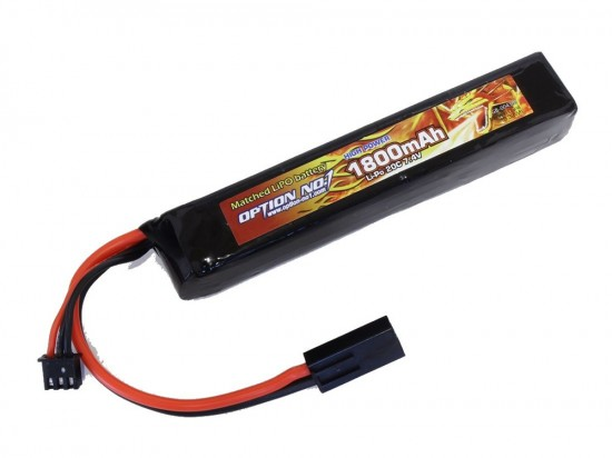 [OPTION NO.1] マッチドLiPOバッテリー HIGH POWER 7.4V 1800mAh GB-0043M (新品)