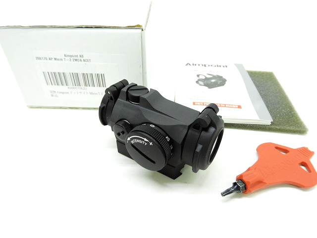 [Aimpoint]  実物 Aimpoint Micro T-2 2MOA 正規品 (中古)