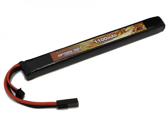 [OPTION NO.1] マッチドLiPOバッテリー BIG POWER 11.1V 1100mAh GB-0025M (新品)