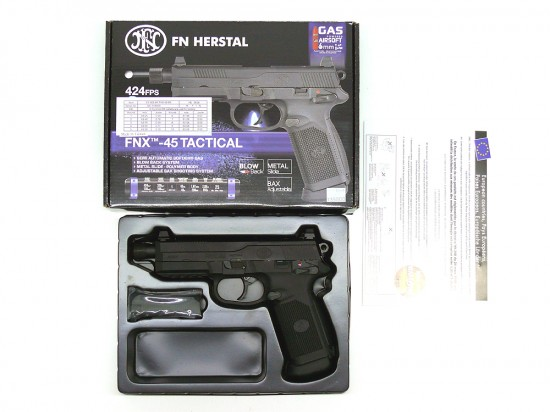 [Cybergun] FNX-45 Tactical BK (中古)