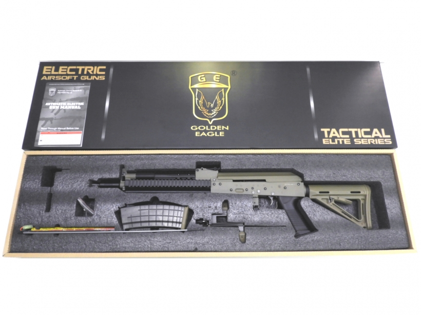 [Golden Eagle] Tactical AK DE MOE St JP Ver. Basicカスタム (中古)