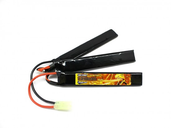 [OPTION NO.1] 11.1V 1300mAh HIGH POWER LiPo GB-0011V2 (新品)