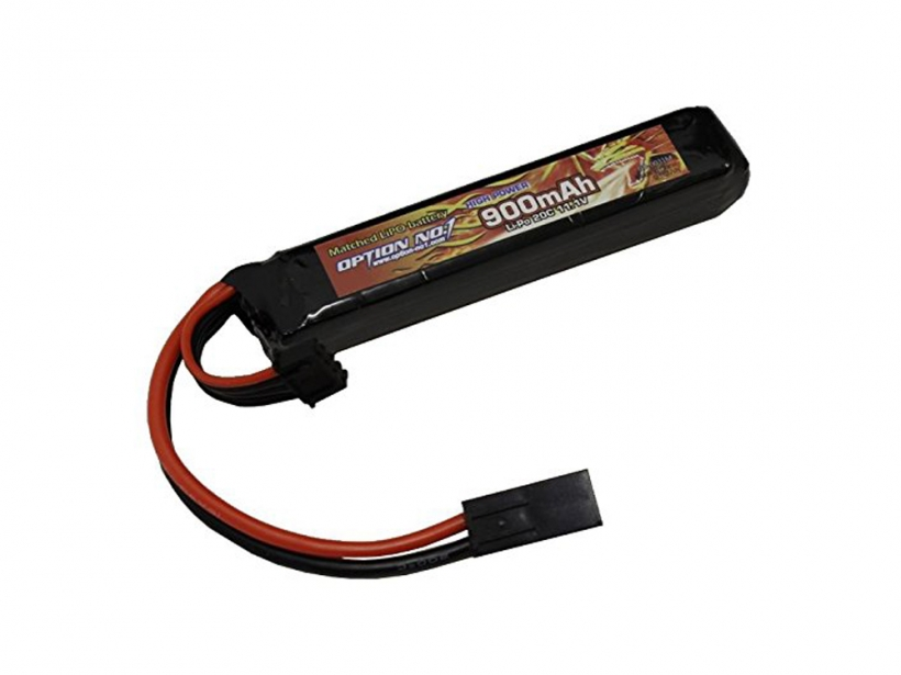 [OPTION NO.1] マッチドLiPOバッテリー HIGH POWER 11.1V 900mAh GB-0031M (新品)